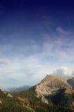 German alps. Scenic shot of watzmann mountain in the bavarian alps, germany Royalty Free Stock Photography