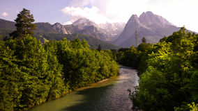German Alps. Taken in Garmisch Royalty Free Stock Image
