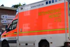German Ambulance Royalty Free Stock Images