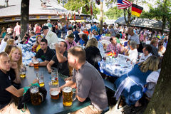 German American Festival Stock Photo