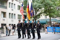 German American Steuben Parade Stock Image