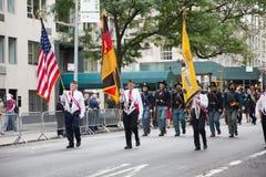 German American Steuben Parade Stock Photos