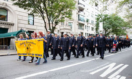 German American Steuben Parade Stock Photography