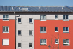 German apartment house Stock Photography