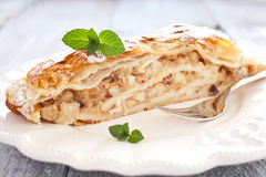 German Apfelstrudel Royalty Free Stock Images