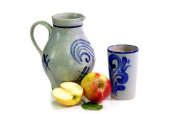 German apple wine Royalty Free Stock Photography