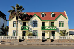 German architecture in Swakopmund, Namibia Royalty Free Stock Photo