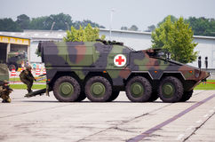 German armoured ambulance vehicle, Boxer Stock Photo