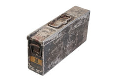 German army ammo case. Isolated Stock Images