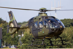 German Army Eurocopter EC135 helicopter Stock Photos