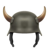 German Army helmet with horns Royalty Free Stock Image