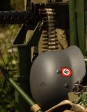 German Army Helmet Stock Photo