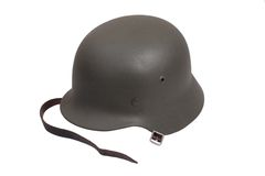 German Army helmet World War II period Royalty Free Stock Image