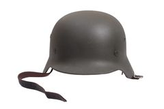 German Army Helmet World War II Period Royalty Free Stock Photo