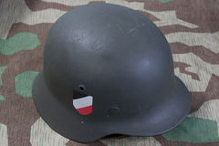 German Army helmet Stock Photo