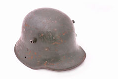German army helmet from WWI, WWII Stock Photo