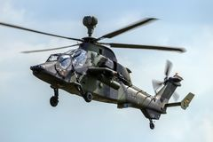 German Army Tiger Attack Helicopter Stock Images