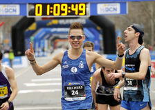 German athlete Nicolai Riechers Stock Image