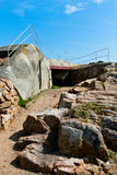 German Atlantic Wall Bunker, Jersey Royalty Free Stock Photo