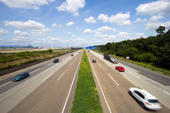 German Autobahn Royalty Free Stock Images