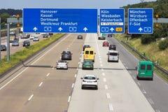 German Highway Royalty Free Stock Image