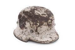 German battle helmet (model M40) Royalty Free Stock Images