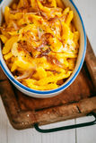 German or Bavarian cuisine with spaetzle Royalty Free Stock Photo