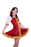German/Bavarian woman Royalty Free Stock Photos