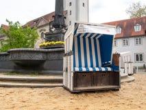 German beach chair Stock Photography