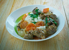 German beef stew Royalty Free Stock Photography