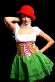 German beer girl Royalty Free Stock Image