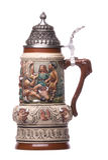 German Beer Mug Isolated Stock Image