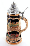 German Beer Stein Royalty Free Stock Photo