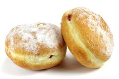 German Berliner pastry Royalty Free Stock Photo