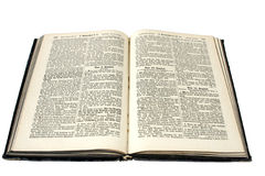 German Bible Royalty Free Stock Images