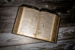German bible Royalty Free Stock Photography