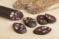 German black pudding Royalty Free Stock Images