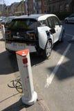 GERMAN BMW ELECTRIC CAR Stock Image
