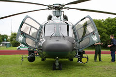 German Border Patrol helicopter Royalty Free Stock Photography