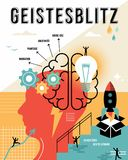 German brainstorm outline business concept Royalty Free Stock Images