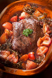 German braised meat with vegetables Royalty Free Stock Photos