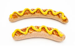 German Bratwurst Stock Photos