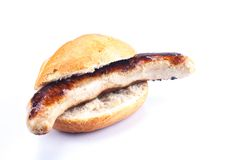 German Bratwurst Royalty Free Stock Photography