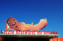 German Bratwurst Stock Images