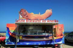 German Bratwurst Royalty Free Stock Photo