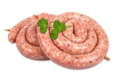 German bratwurst sausage Royalty Free Stock Images