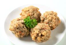 German bread dumplings Stock Images