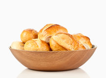 German bread rolls bun. In the breadbasket Stock Photography