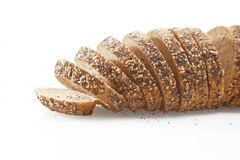 German Bread with Sesame and Pumpkin Poppy Seeds Stock Photos