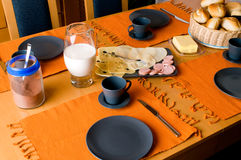 German breakfast Royalty Free Stock Images